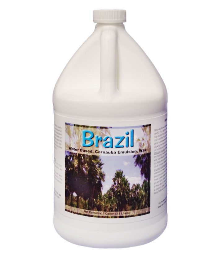 Brazil #1 Carnauba Wax Emulsion Finish