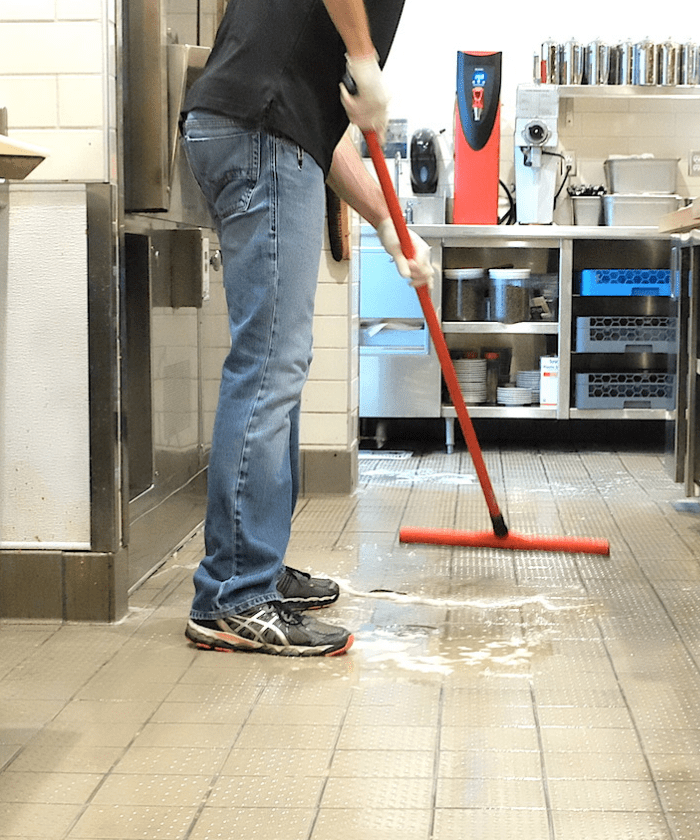 Commercial Kitchen Cleaning: Traction Clean Anti-Slip Floor Cleaner & Degreaser