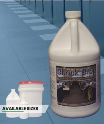 Shock Stop flooring treatment