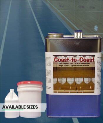 Center Court High Gloss 450g Liter Urethane Gym Finish