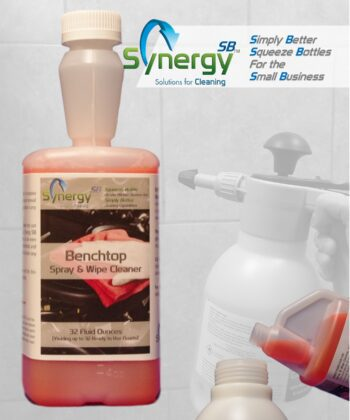 benchtop spray and wipe cleaner