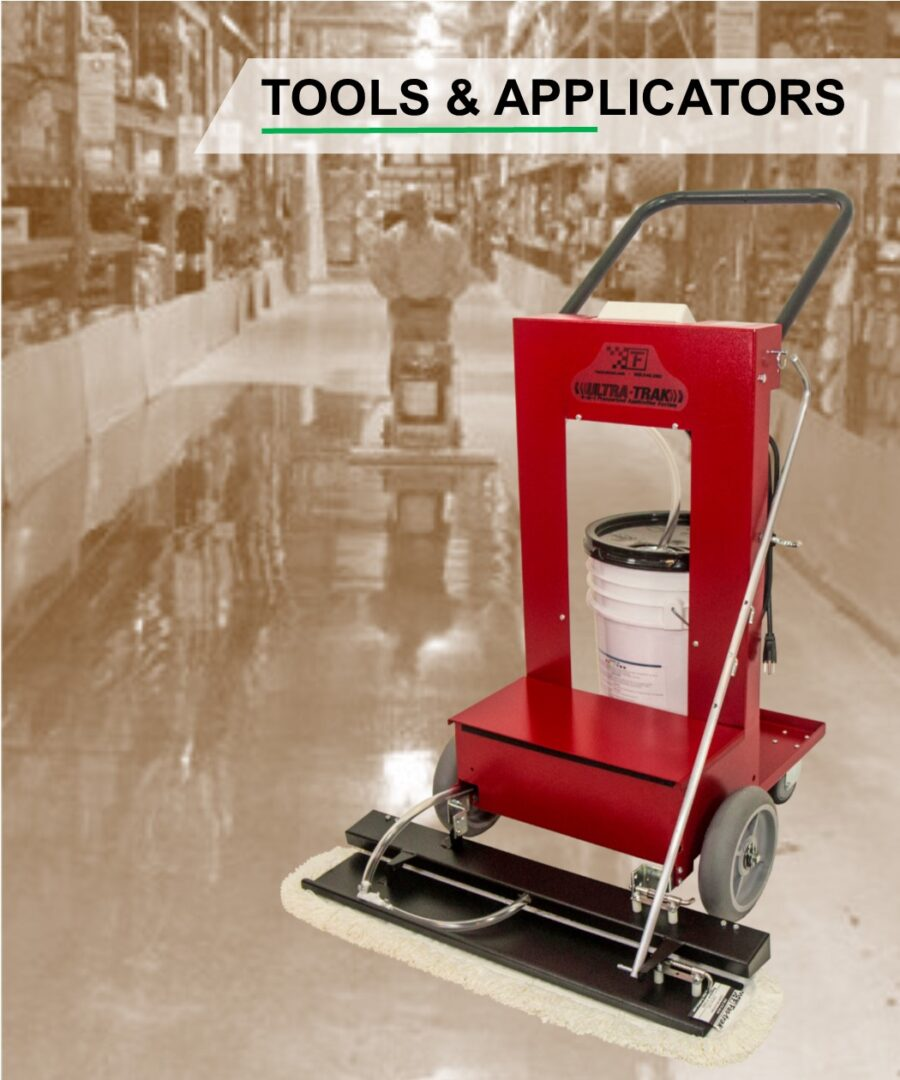 Ultra-Trak floor application machine
